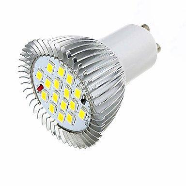 3.5W LED Spotlight GU10 16 SMD5630 360-400 Lm Warm White /White AC220-240V 10Pcs , 220-240v