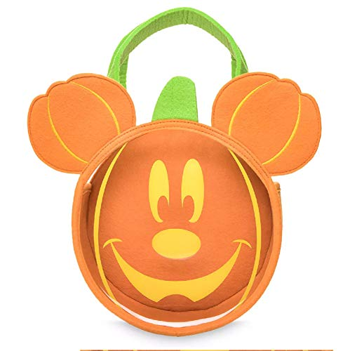 Mickey Or Minnie Mouse Glow in Dark Trick or Treat Bag Halloween ()