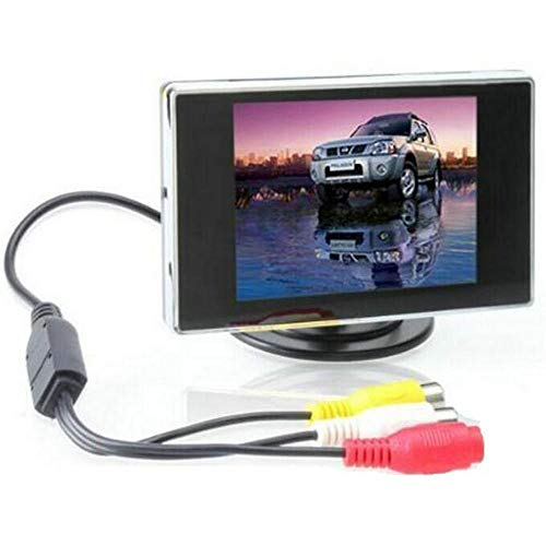 "BW 3.5 ""TFT LCD Auto Achteruitrijcamera Kleur Camera Monitor & DVD, 3.5 Inch LCD Monitor Auto Monitor voor Auto/Automobiel"