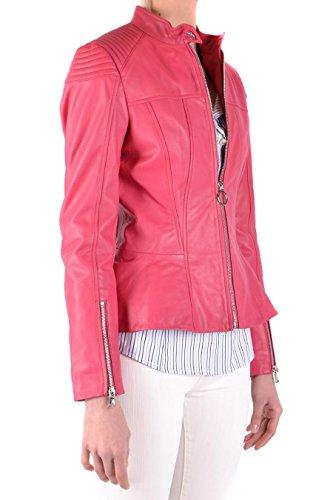 INCURVARER51 Cazadora Pinko Mujer Rojo Cuero qwwZx7PC4