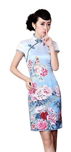 avacostume-womens-silk-vtg-peony-printed-qipao-mini-dress-cheongsam-x-small-blue