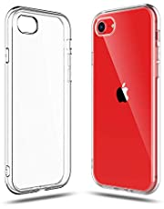 Compatible with iPhone SE 2020 (2nd Generation), iPhone 8 and 7 Case, Shamo's Clear Cover Shock Absorption TPU Rubber Gel Silicone