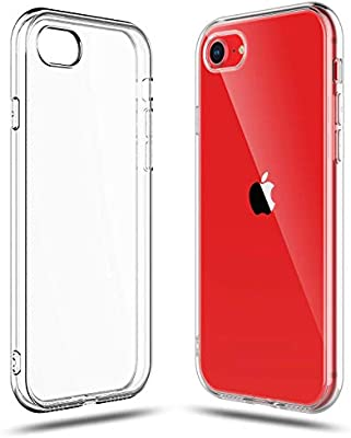 Amazon Com Shamo S Crystal Clear Shock Absorption Tpu Rubber Gel Case Clear Compatible With Iphone Se 2020 2nd Generation Iphone 8 And Iphone 7