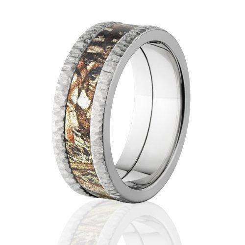 Mossy Oak Rings Camouflage Wedding Rings Duck Blind Camo