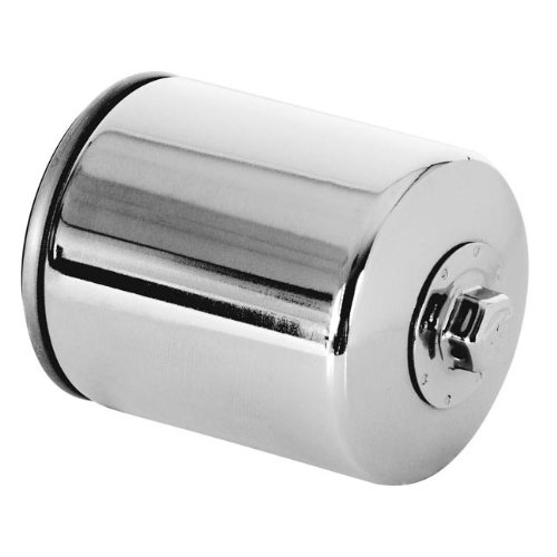 K&N KN-170C Chrome Oil Filter for Harley 80-13 all OEM 63796-77