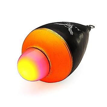 kenthia noche corcho flotadores de pesca flotador EVA luminoso Iluminación con 1 batería: Amazon.es: Deportes y aire libre