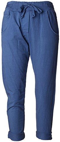 de Cordon Moyen Bleu Pantalon Poignets Larges Jogging Avec De Et Basic 7vImbg6Yfy