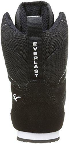 Everlast 8003 - Botas altas de boxeo unisex, color negro