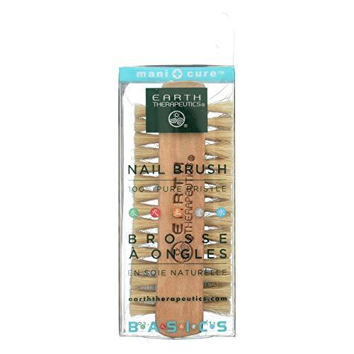 Brush Professional Therapeutics Earth Nail - EARTH THERAPEUTICS NAIL BRUSH,GENUINE BRISTL, BRUSH