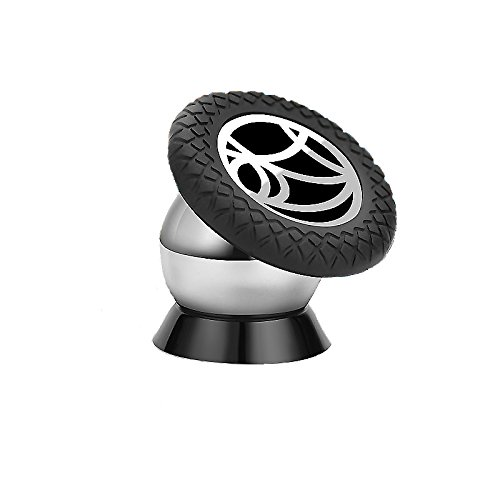 KELLM Universal 360° Magnetic cell phone car Dash holder Stand. Motorcycle Mobile Phone mount for iPhone,Iphone 6 6S 7 Samsung Dashboard Mount,best portable magnetic air vent phone mount in car