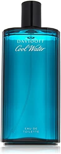 Davidoff Cool Water Eau de Toilette Spray for Men, 6.7 Fluid Ounce