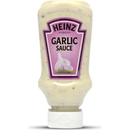 Heinz Salsa Acompañamiento Plastico Top Down 220 Ml Ajo: Amazon.es: Alimentación y bebidas