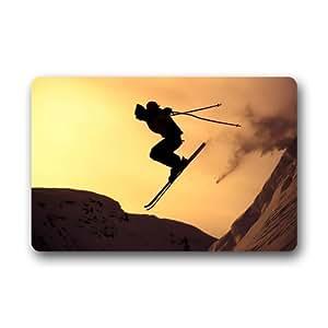 """Carcasa esquí alpino/de esquí/skee sports invierno Nieve Resistente para interiores/al aire libre resistente a las manchas–Felpudo 23.6""""(L) X 15,7(W)"""