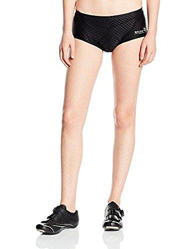 Baleaf Women's 3D Padded Cycling Bicycle Underwear Black Size M