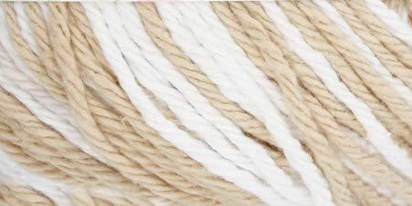 Creme Ombre Yarn - Red Heart Creme de la Creme-Soft Tans Ombre
