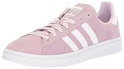 adidas Originals Kids' Campus J Sneaker,Aero Pink/White/White,5.5 M US Big Kid