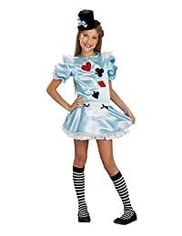 Alice In Wonderland Dress Costume Tween