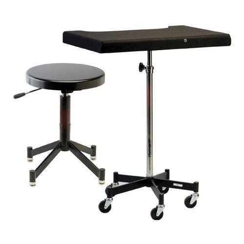 Photogenic TONY Posing Table with Casters and the PG341B Posing Stool (7826SP) by Photogenic