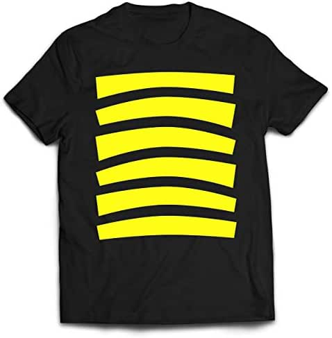 Youth Bee Halloween Costume Shirt Top Cute Honeybee Bumblebee for Boys and Girls