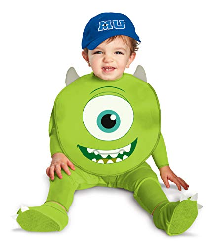 Monster Costume Ideas For Kids (Disguise Costumes Disney Pixar Monsters University Mike Classic Infant, Green/White/Blue, 12-18)