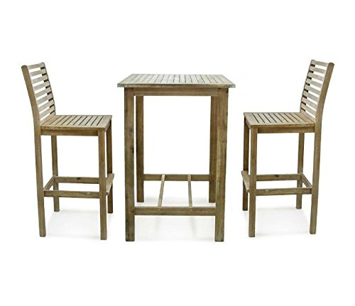 Wood Bistro Set - 2