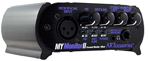 ART MyMONITORII Personal Headphone Monitor/Mixer by ART