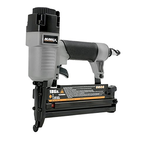 "NuMax SL31 Pneumatic 3-in-1 16-Gauge and 18-Gauge 2"" Finish Nailer and Stapler Ergonomic and Lightweight Nail Gun with No Mar Tip for Finish Nails, Brad Nails, and Staples"