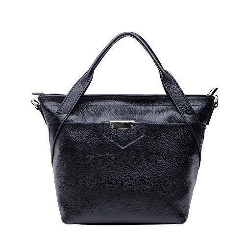 Large Casual Black Bandoulière Handle Pour Femmes Sacs Top Mode à En Sacs à Main Cuir Décontractés UOY8YZ