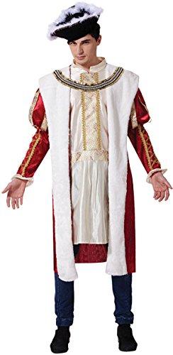 [Medieval Roman Empire Fancy Dress Party Henry Tudor The Royal King Costume] (Roman Empire Costumes)