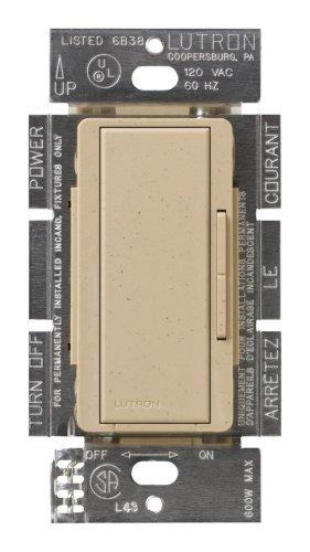Lutron MSC-AD-DS Maestro 600-Watt Accessory Dimmer Desert Stone