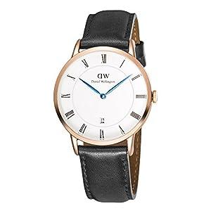 Daniel Wellington Reloj Analógico para Hombre de Cuarzo con Correa en Cuero DW00100084 2