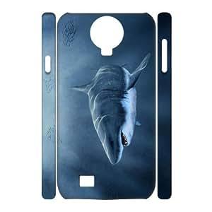 QNMLGB Hard Plastic of Deep Sea Shark Cover Phone Case For Samsung Galaxy S4 i9500 [Pattern-3]