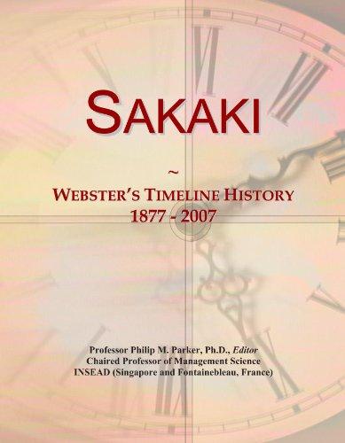 Sakaki: Webster's Timeline History, 1877 - 2007