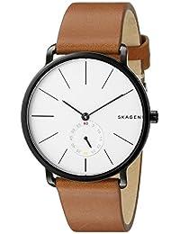 Skagen Men's SKW6216 Hagen Dark Brown Leather Watch