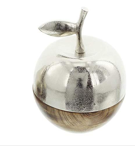 Frank Flechtwaren Apfel Metallic-Wood