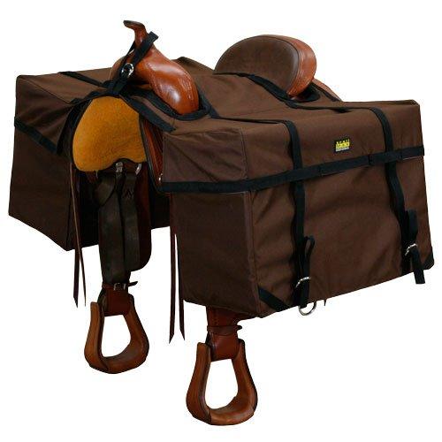 TrailMax Saddle Panniers, Brown