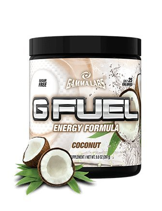 Gamma Labs G Fuel Tub Energy Formula, Coconut, 280 Gram