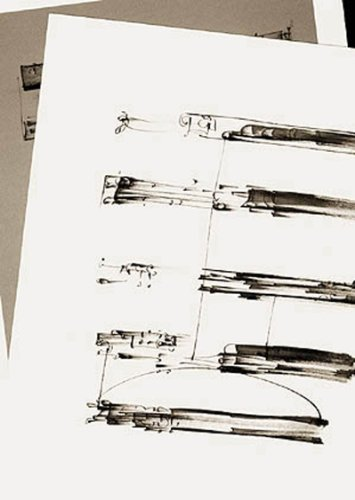 The Music of Frederick Sommer: With Drawings in the Manner of Musical Scores by Nazraeli Pr
