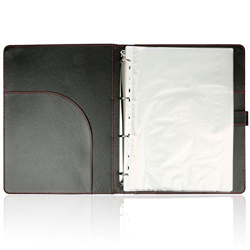 H&S 40 Pockets A4 Presentation Folder Ring Binder Document
