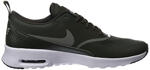 Vert Air Thea Max Baskets Dark 310 Stucco NIKE black Cargo Femme Khaki Basses SxYF6