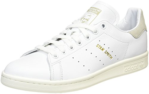 Bianco Sneaker a Metallic Collegiate White Oro Chalk Basso Smith Collo Gold Royal Uomo Stan adidas q0wCH0
