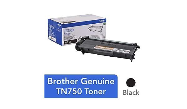 Brother TN-750 Cartucho de tóner Original Negro 1 Pieza(s ...