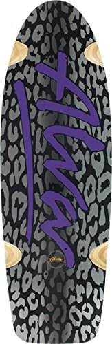 Alva Leopard -10x33 Black/Black with Purple Skateboard for sale  Delivered anywhere in USA