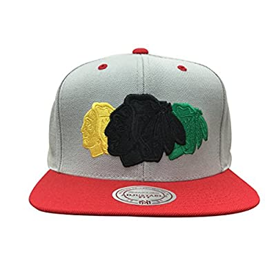 Mitchell & Ness NBA Triple Color Stack Snapback