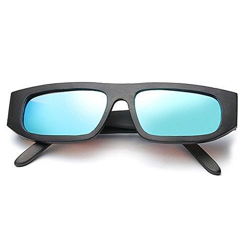 Color de Hombre de de único Retro Madera UV400 a de Diseño Hombre para Gray Artesanal SunglassesMAN Yxsd Sombras a Sol Mano Blue Hecho bambú Gafas Madera Mano para Hecho Brazo Rapv7wxT