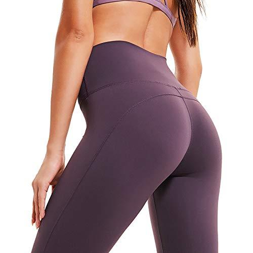 Qqaazz S Sportivo Morbido Leggings Fitness Pantalone Vita Nylon Stretch A Vie Jogging E Alta In 4 Elastan Yoga Ultra Corsa Donna Allenamento Da BCw8B