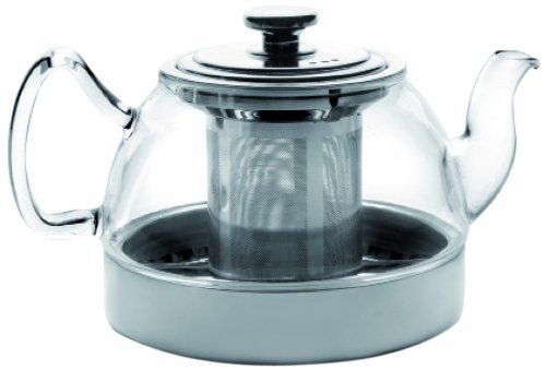 IBILI 621908 Tetera de cristal con filtro inducción 800 ml