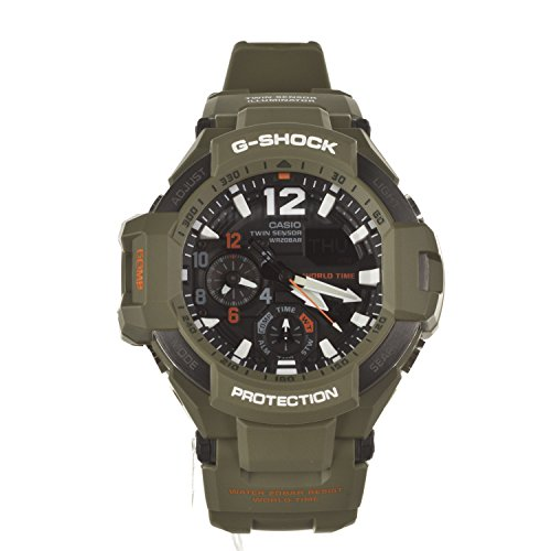 G Shock GA 1100 Green One Size