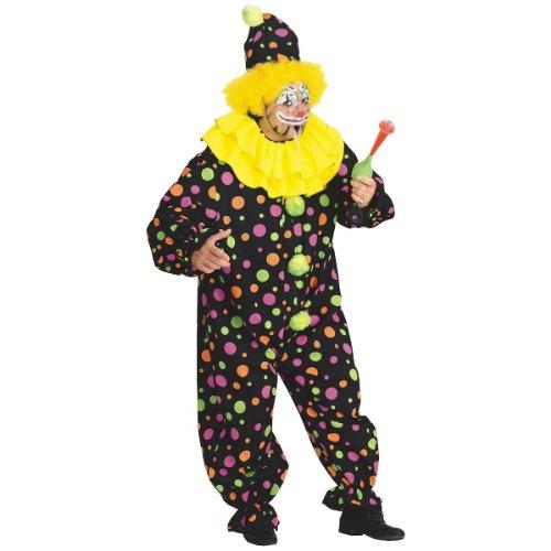 Clown Costume - Plus Size - Chest Size 46-50 ()