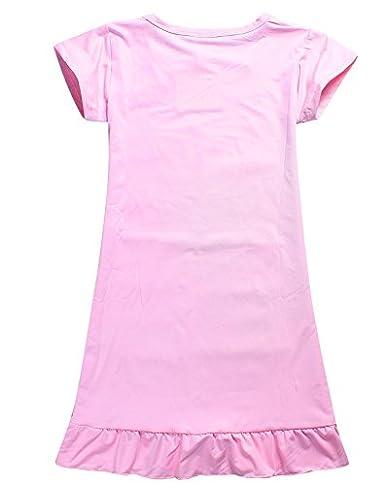 LEMONBABY Moana Comfy Swimsuit Pajamas Girls Birthday Party Princess Dress